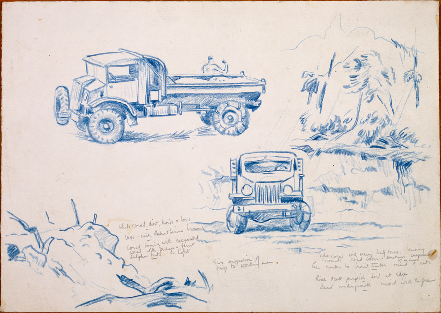 [Two views of tipper trucks]