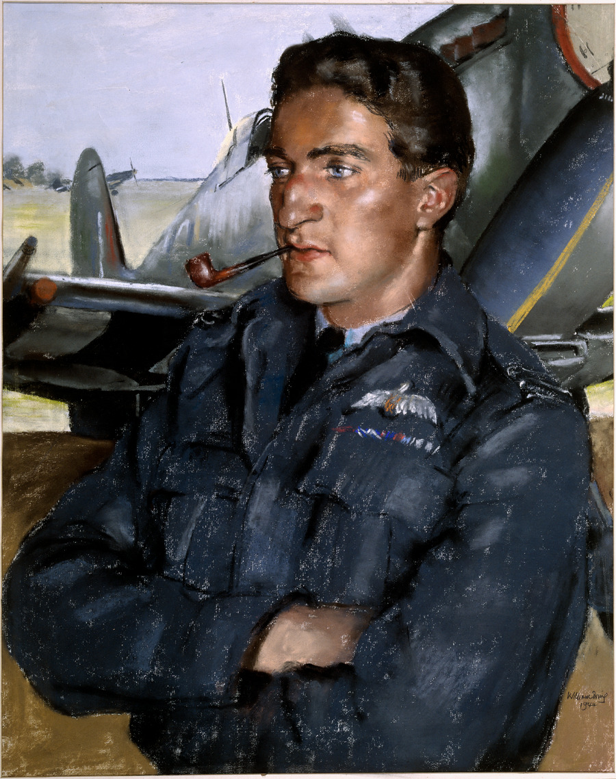 [Flying officer, Alan Deere]