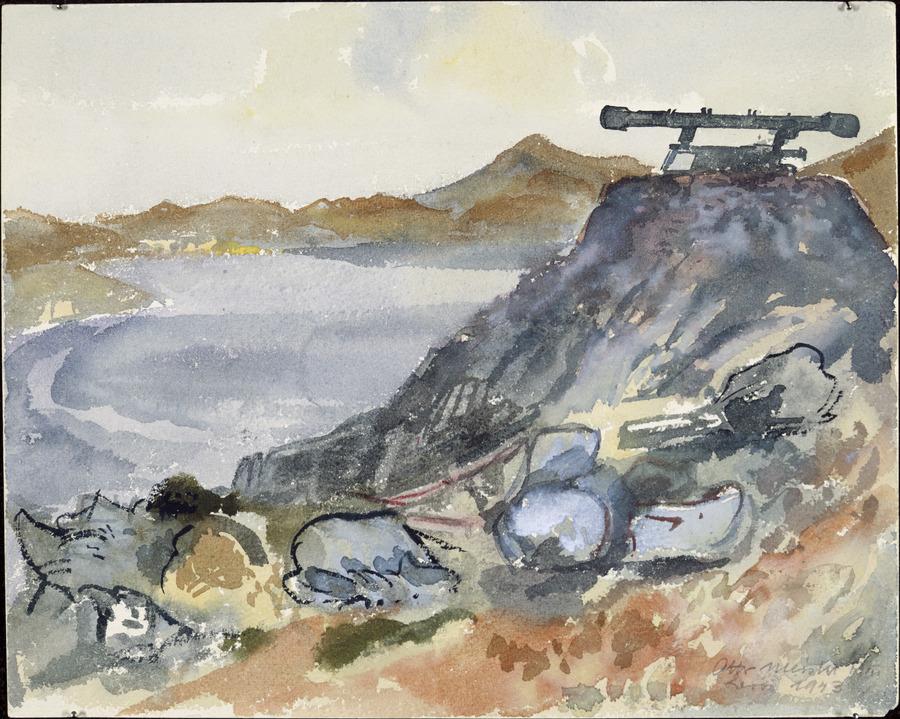 British range finder, Leros