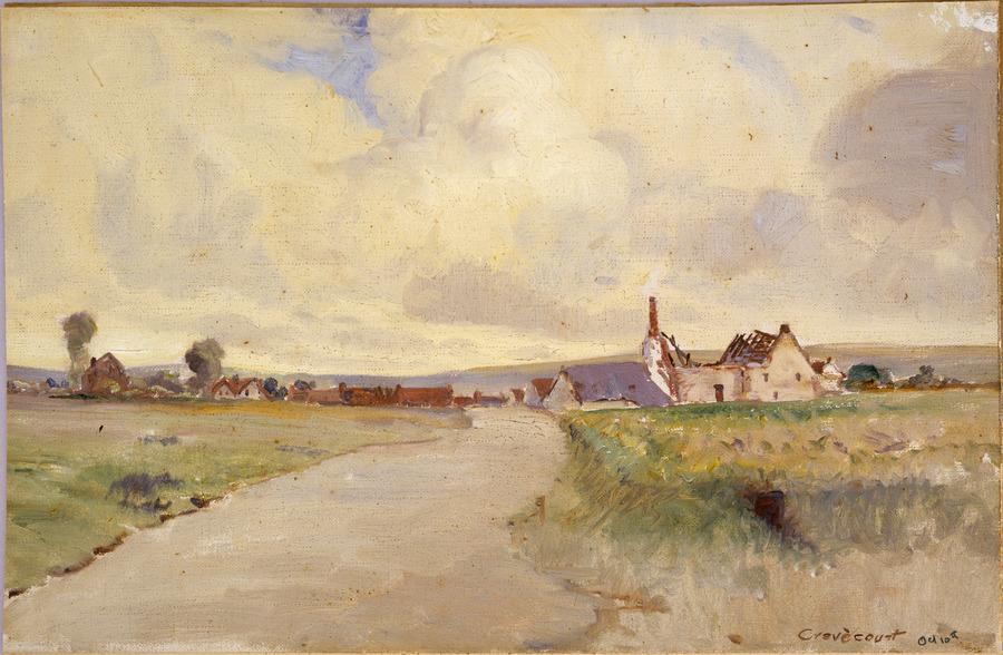 Crevecourt [Crevecoeur], 10 October 1918