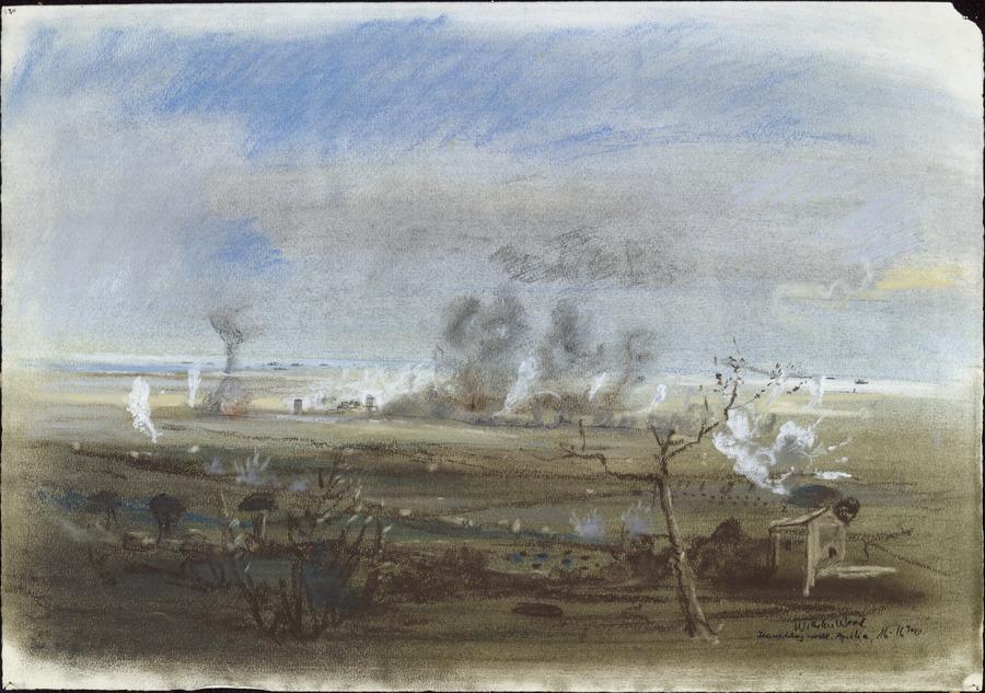 Shelling of Aprilia, Anzio, c. January 1944