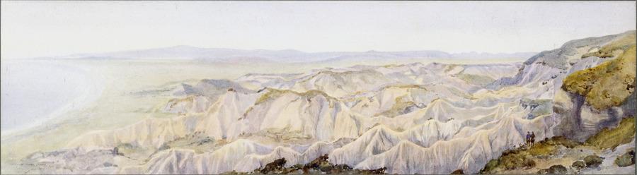 The terrible country towards Suvla [Gallipoli]