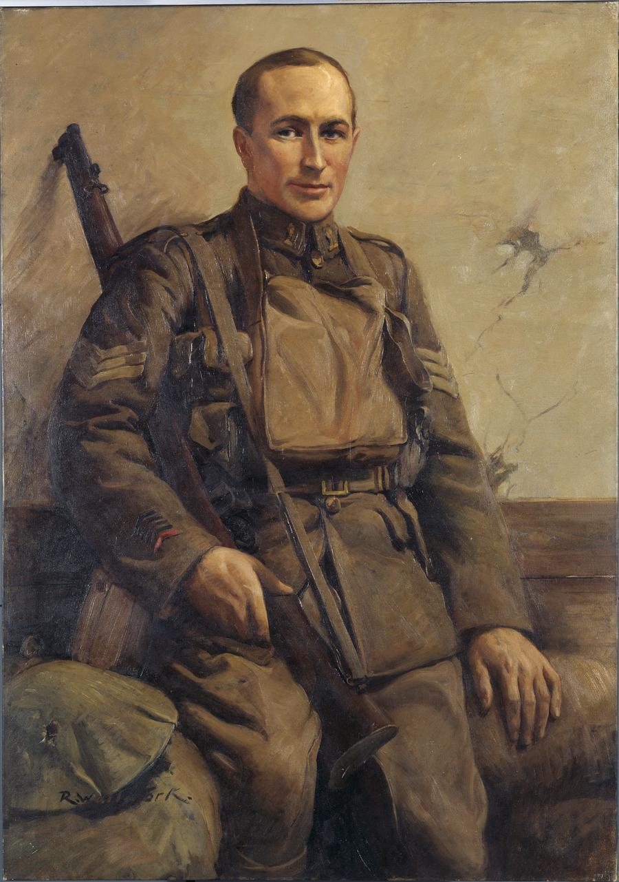 Sergeant R.C. Travis VC, DCM, MM