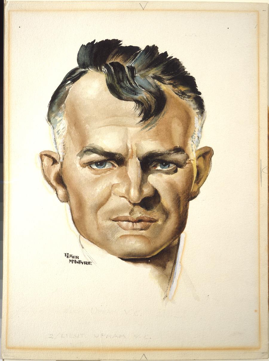 Second Lieutenant Charles Hazlitt Upham, VC and Bar, 24 April 1945