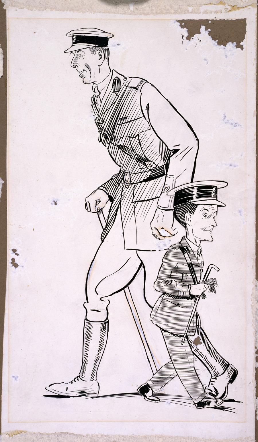 Major McGibbon and Major McCurdy