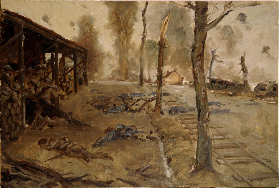 The dump outside Bapaume