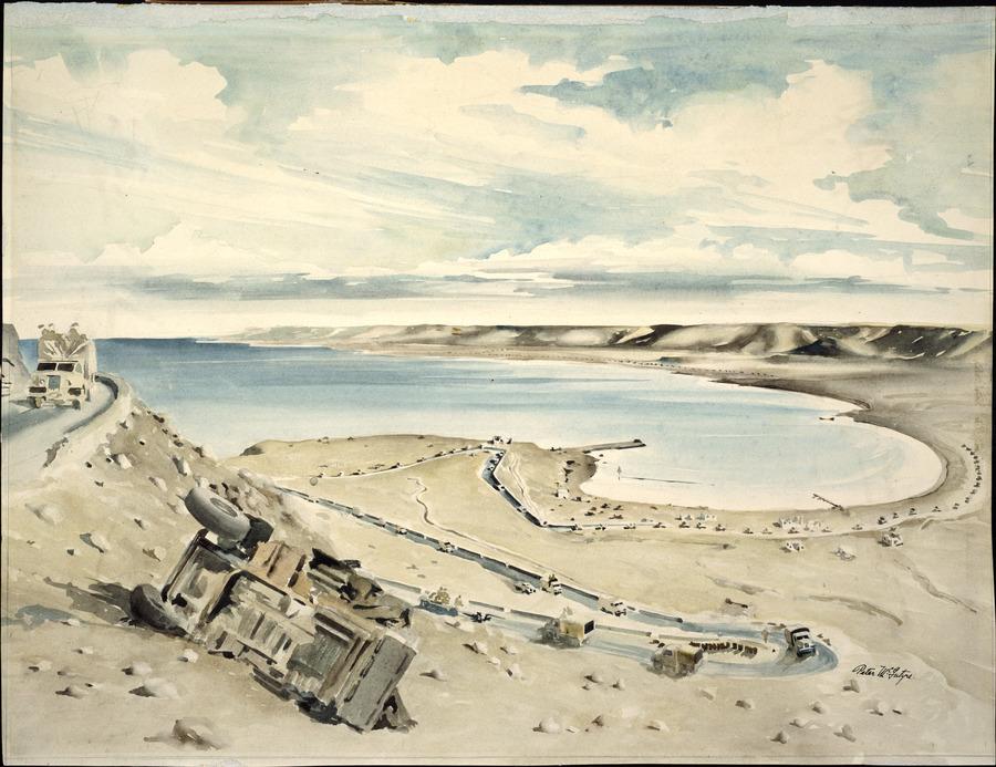 Advance through Sollum Pass, November 1942