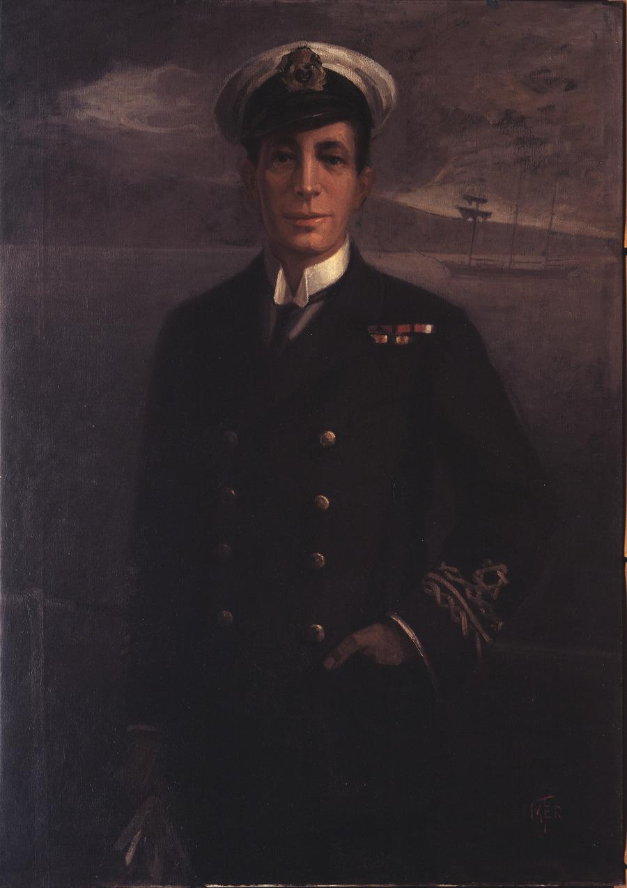 Lieutenant Commander W.E. Sanders, VC, DSO, RNR
