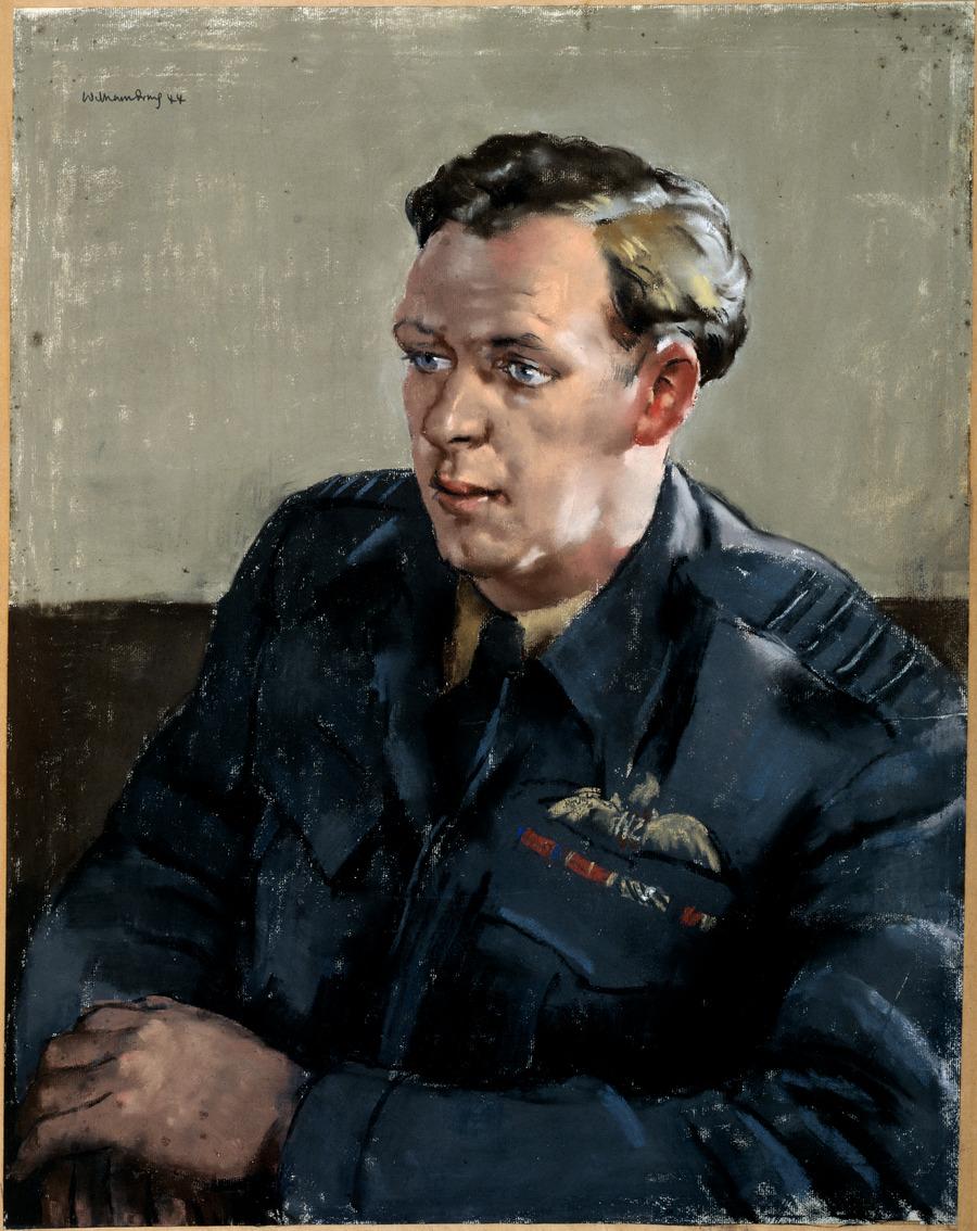 [Flying officer, D.J. Scott]