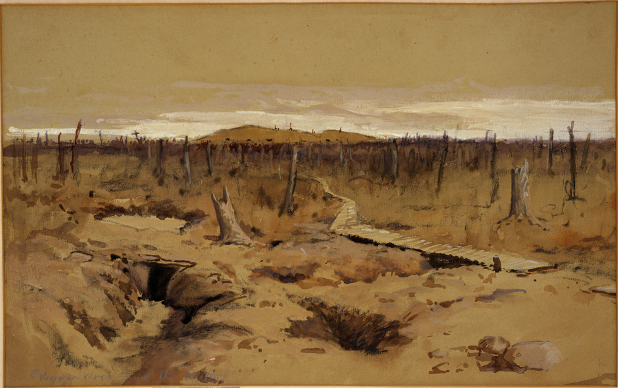Polygon Wood and the Butte