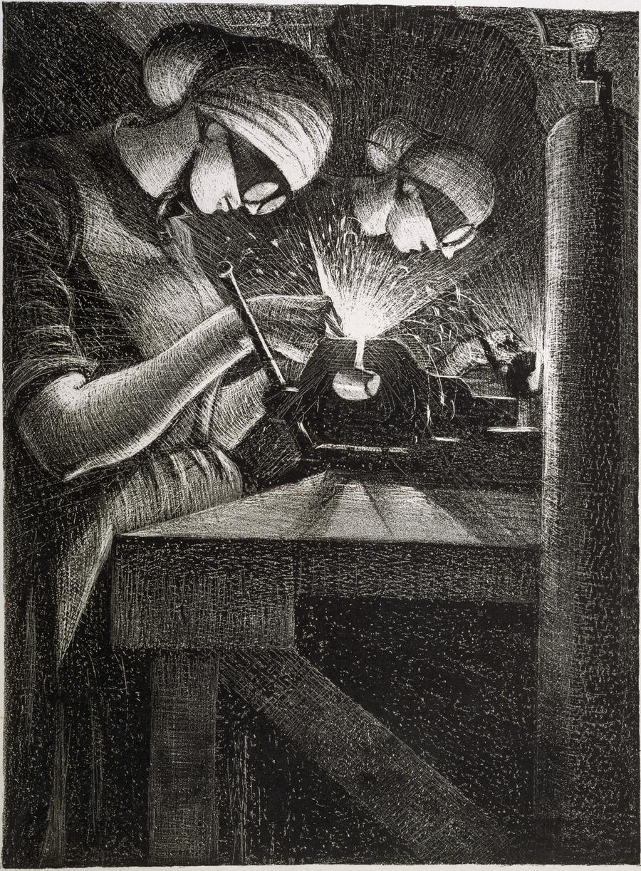 The acetylene welder