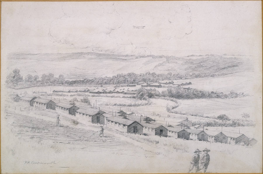Main camp, Codford command depot