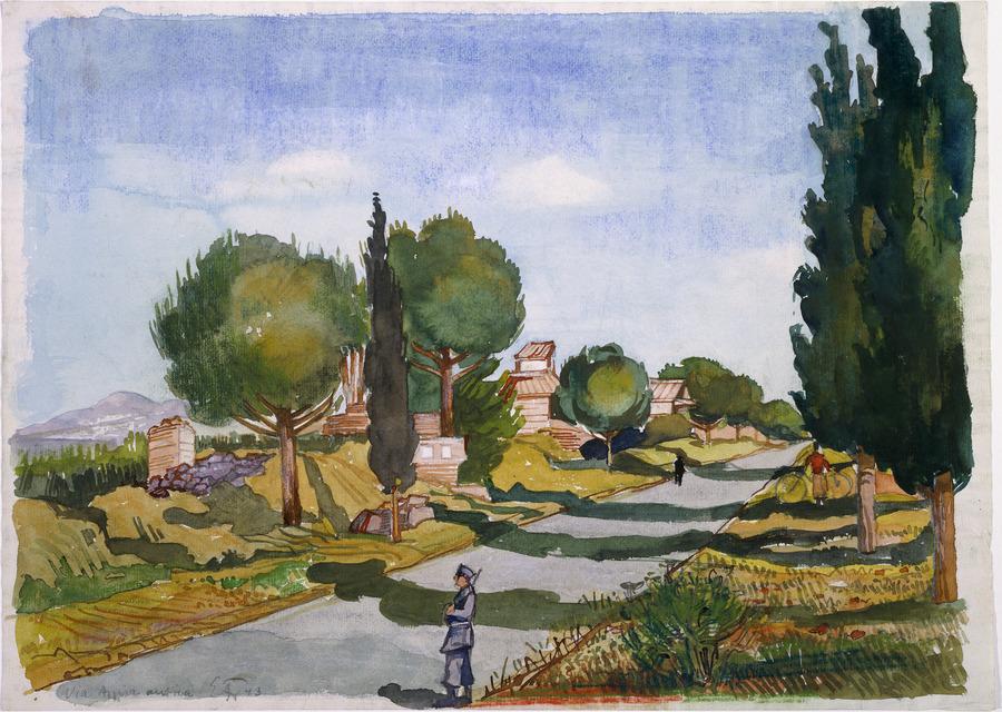 Appian Way, Italy, June 1943