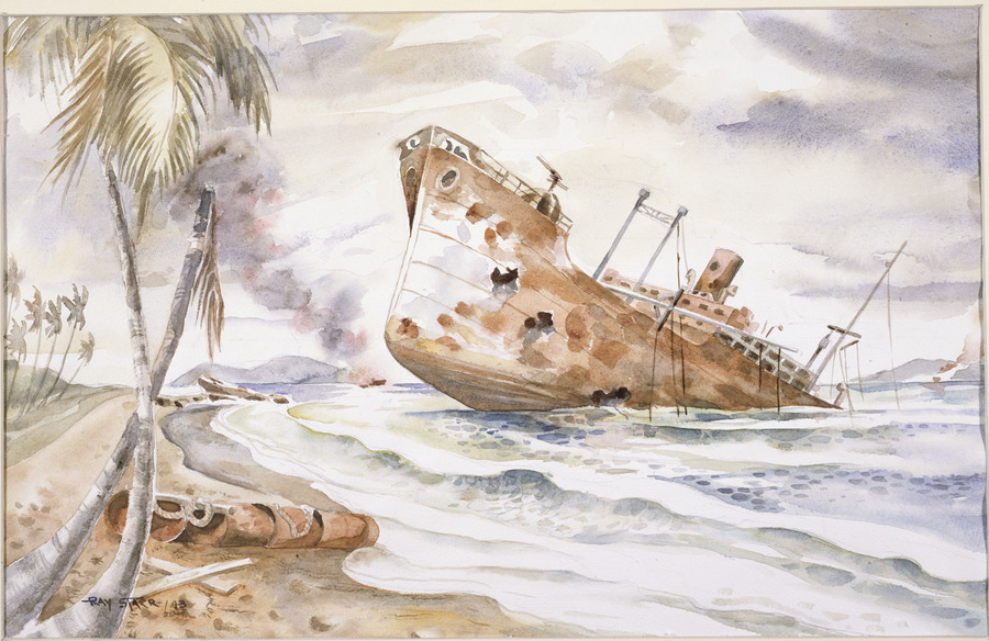 Pacific aftermath, Guadalcanal