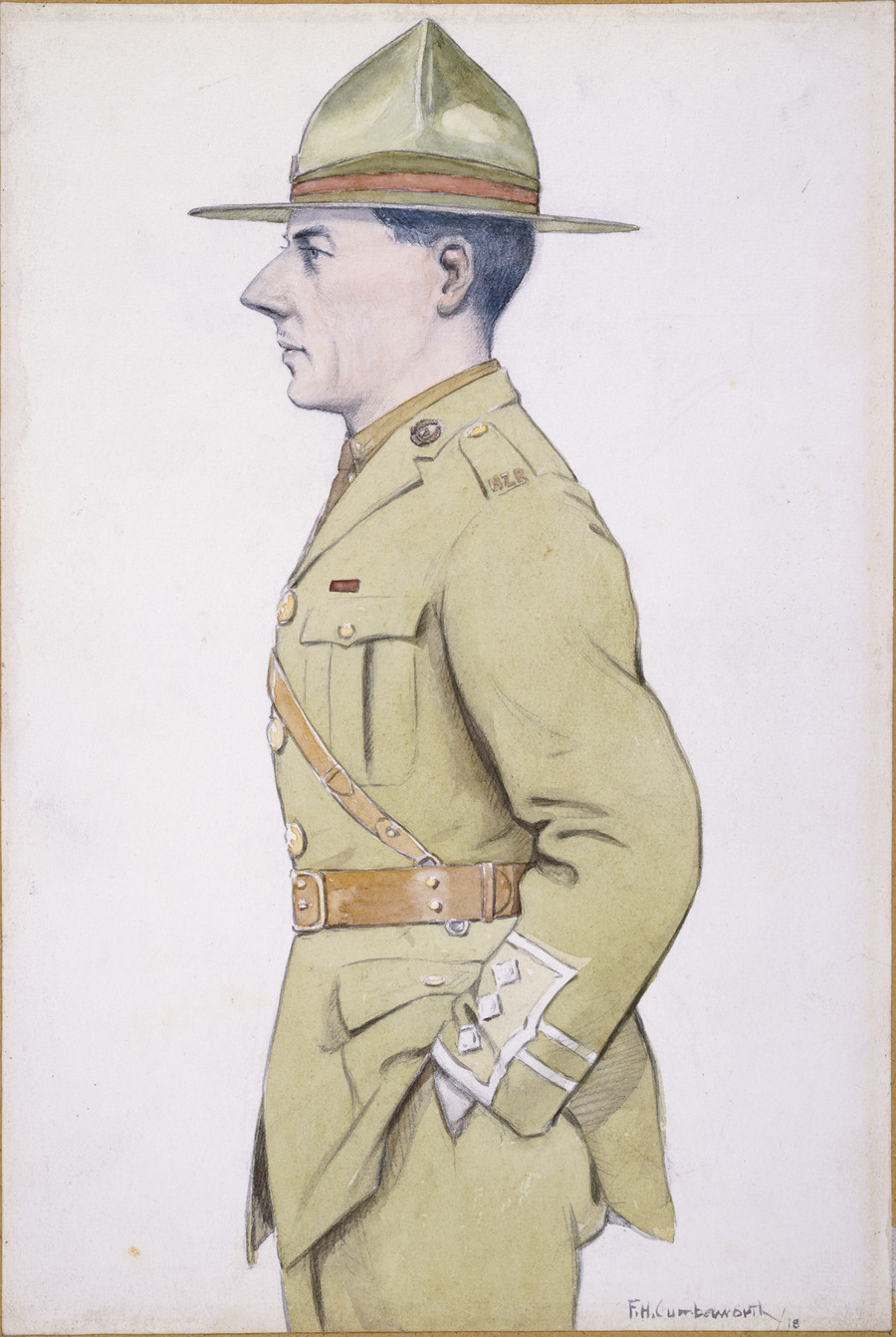 Captain McPherson, Adjutant, Codford Command Depot