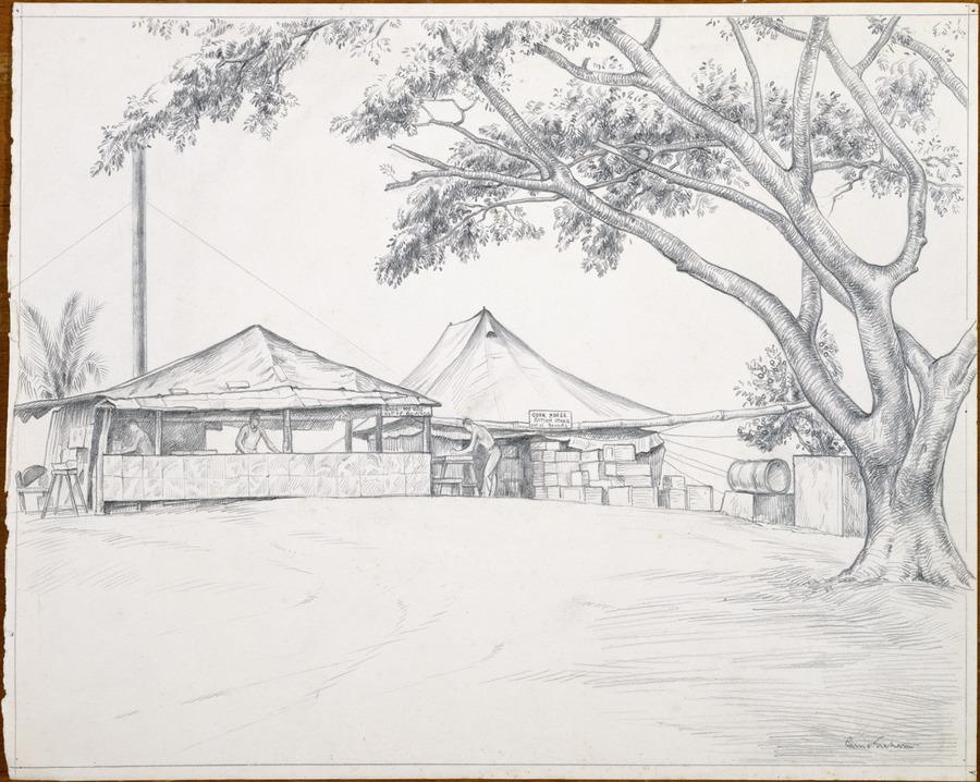 [Army camp]