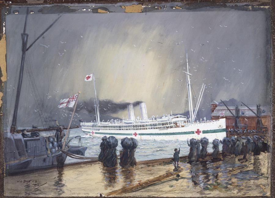 """The hospital ship """"Maheno"""""""