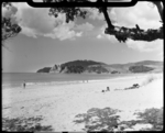 View of Langs Beach, Northland. Photograph taken J...