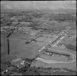 Aerial view of Te Atatu, photographed by Whites Av...