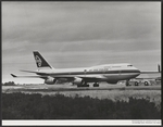 Air New Zealand Boeing 747-400 aircraft, first del...