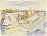 Old bridge over Tiber