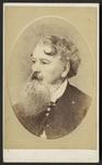 Vignetted head-and-shoulders portrait of James Els...