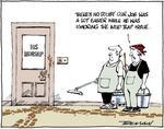 Digital cartoon by Garrick Tremain on political an...