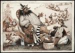 Lloyd, Trevor, 1863-1937 :The kings of Te Kuiti ; the Maori landlord again [ca 1907]
