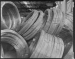 Unwrapped coils of wire 3/3/65, photographed by K ...