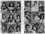 Eighteen photographs of rangitira (Maori chiefs). ...