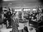 Interior of Manoy's shop, Stratford, circa 1933. S...