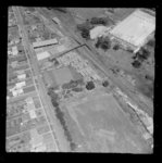 Aerial photograph taken by Whites Aviation.  Quant...